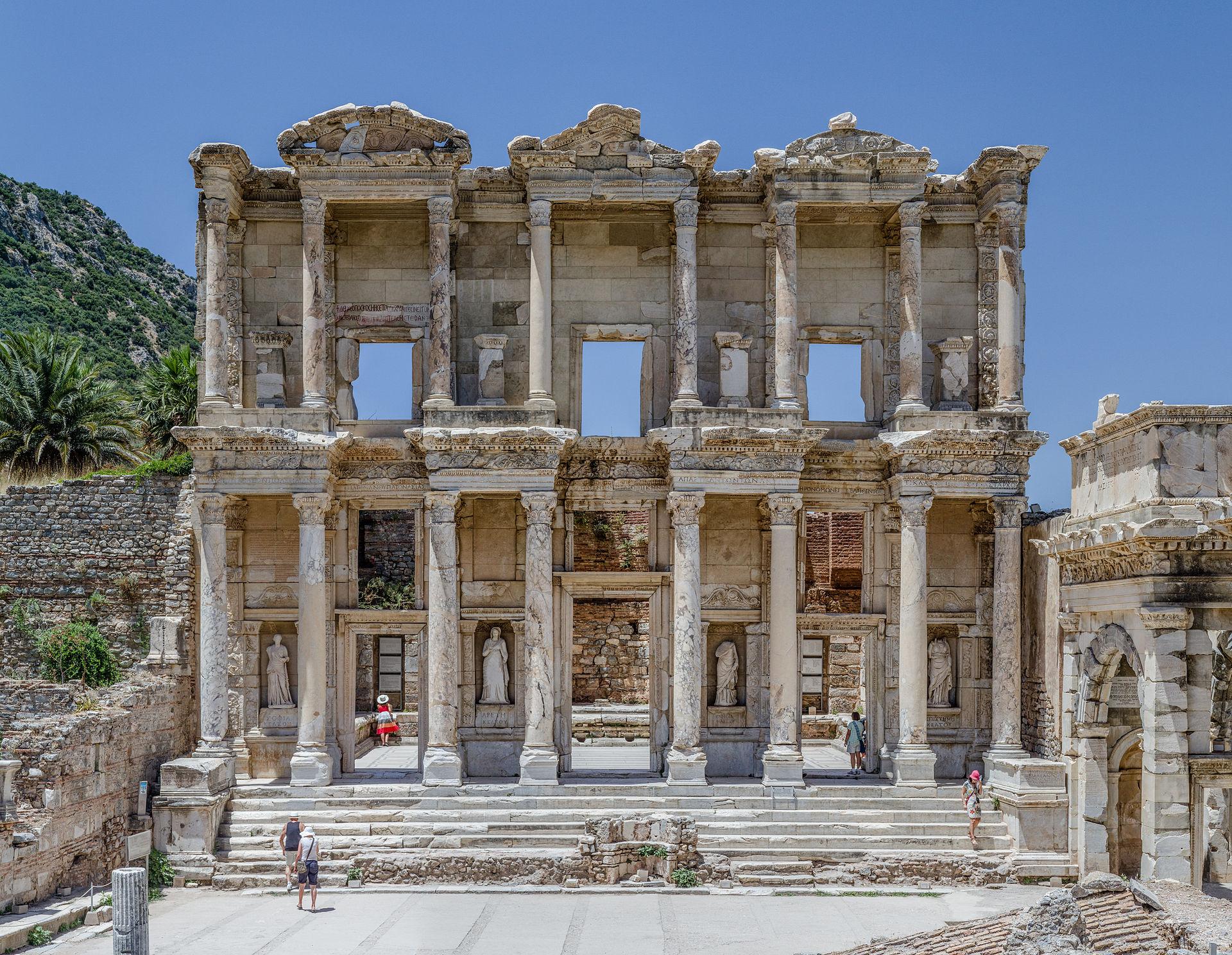 Ephesus_Celsus_Library_Façade